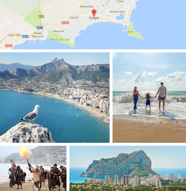 Holidays in Spain Calpe